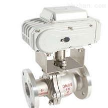 BOER10调节型电动对夹不锈钢球阀Q971F-16P-DN100