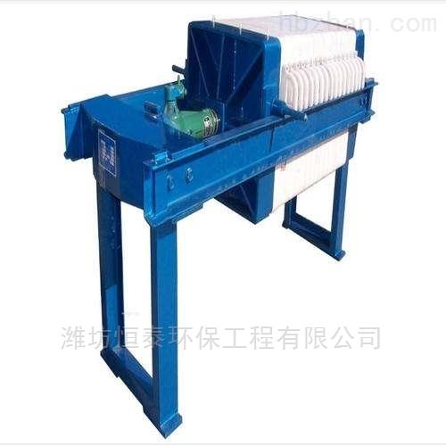唐山市隔膜滤板机配置清单