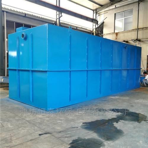 唐山市MBR污水处理设备配置清单