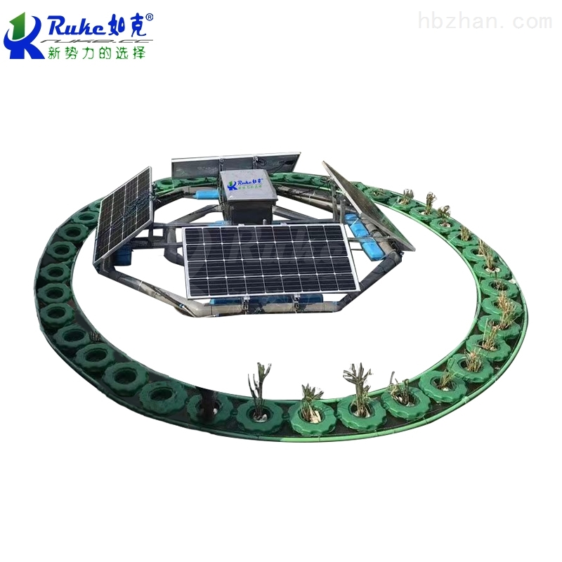 太阳能生态系统生态浮岛