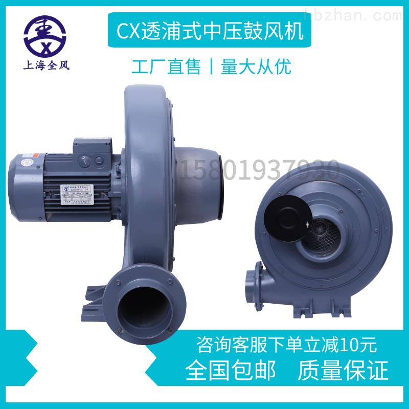 CX75S-400w透浦式中压鼓风机