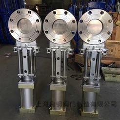 PZ673W气动不锈钢刀闸阀