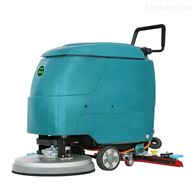 YSD-530BZ手扶自走式洗地工厂车间保洁地面清洗拖干机