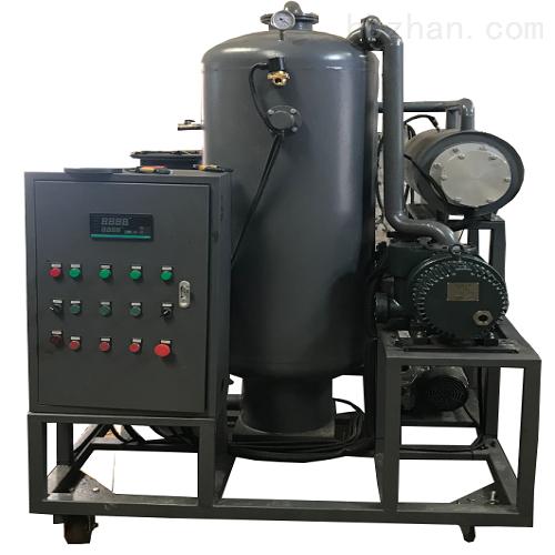 电厂抽气,除酸双级真空滤油机