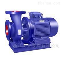 沁泉 ISWH20-160防爆卧式化工不锈钢管道泵