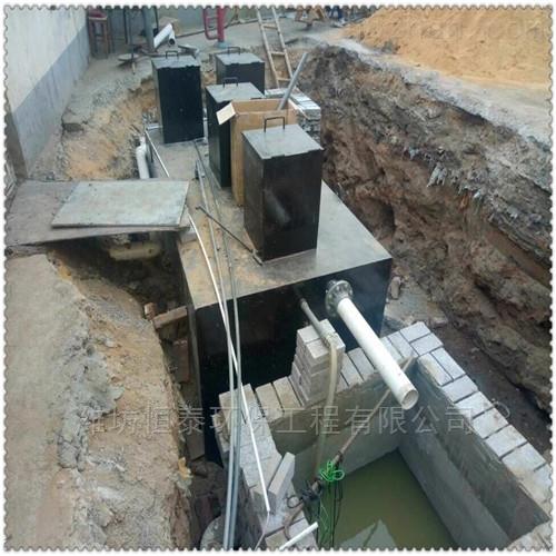 舟山市食品厂地埋污水处理设备工艺