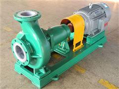 IHF65-40-200A单级单吸式氟塑料合金化工离心泵