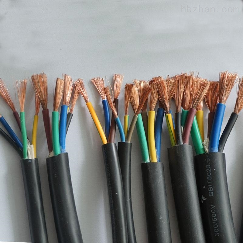 H05VV-F高柔性拖链电缆合格证