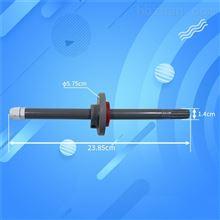 管道温湿度变送器法兰485实时监控防尘长杆