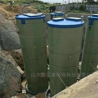 XYTBZ-900乡镇污水一体化提升泵站
