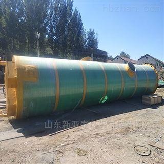 XYTBZ-600污水厂工程一体化提升泵站