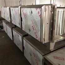 综合体大型商场排烟系统静电油烟净化处理