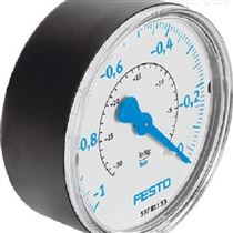 FESTO壓力顯示器,PAGN-40-0.6M-R18-1.6壓力表