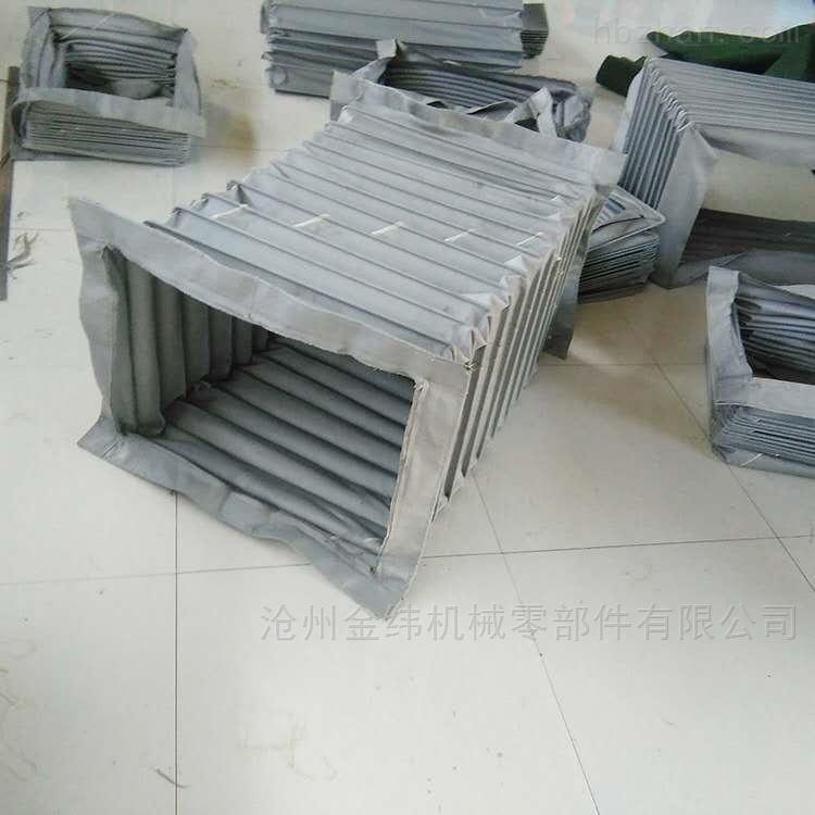 圆形硅钛布风机软连接厂家供应