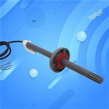 法兰温湿度传感器RS485实时监控长杆