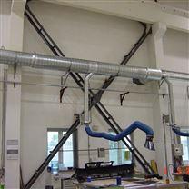車間焊煙處理工藝 吸氣罩吸附處理