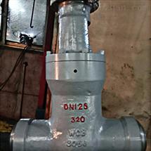 Z961Y高温高压电动焊接闸阀