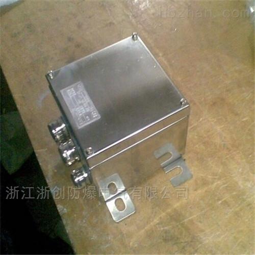 增安型不锈钢防爆接线箱300200