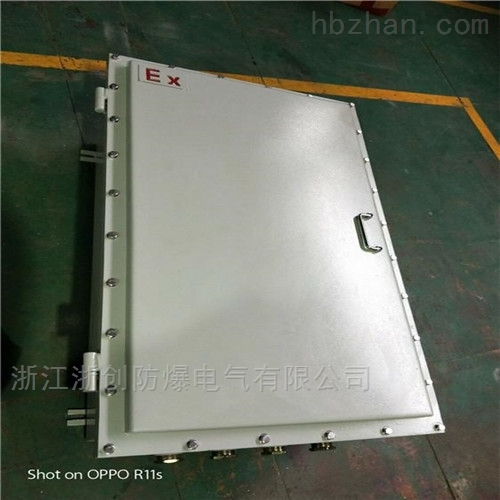 室内粉尘防爆接线箱钢板焊接