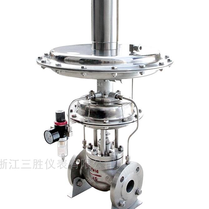 先导式指挥器操作型压力调节阀(即氮封阀)