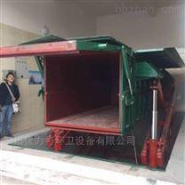萬州-城市垃圾水平壓縮地埋式垃圾中轉站
