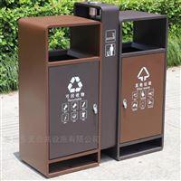 嘉定公園環保果皮箱生產廠家  不銹鋼垃圾桶
