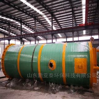 XYTBZ-1000洗涤厂污水一体化提升泵站