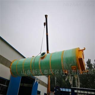 XYTBZ-600高速公路雨水一体化提升泵站