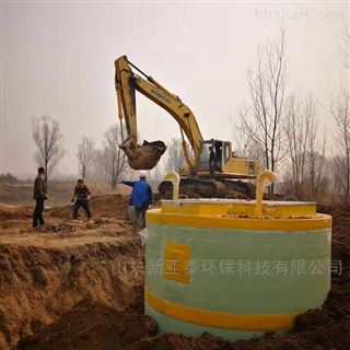XYTBZ-1000小区生活污水一体化提升泵站