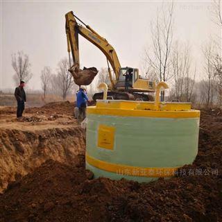 XYTBZ-2500道路涵洞积水一体化提升泵站