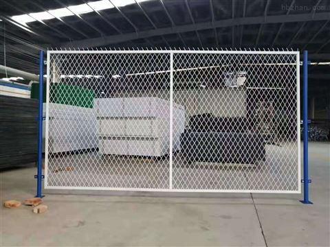 砖砌实体围墙顶端加高金属钢丝网围栏