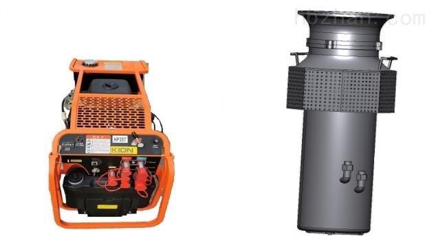 400方大流量便携式液压防汛潜水泵
