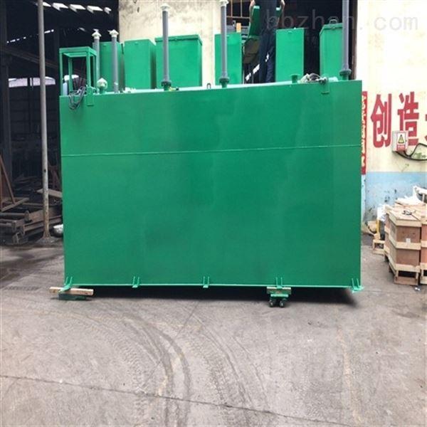 天津众迈一体化污水处理工艺设计原则