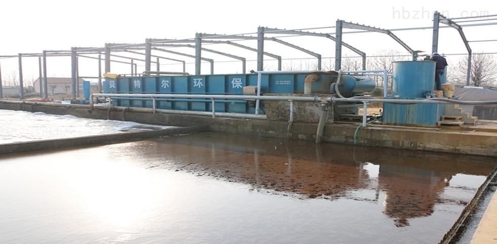 农鸭业食品废水处理雷竞技官网app气浮机运行现场
