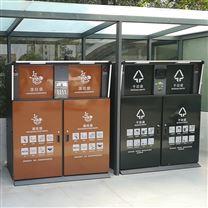 上海垃圾收集箱户外钢板智能垃圾桶
