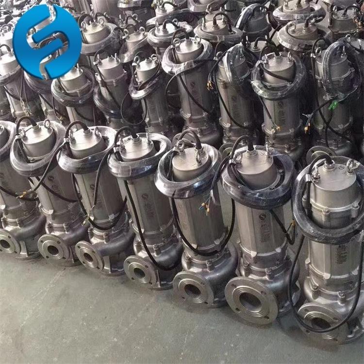 无堵塞液下排污泵WQ20-22-3材质