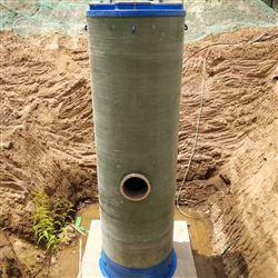 湖南玻璃钢一体化泵站*|鸿百润环保