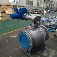 DN300大口径固定式电动球阀