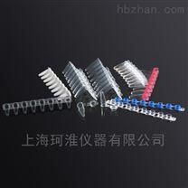 0.1ml PCR连盖平盖八排管PST-0108-AFT-C