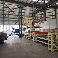 机制岩棉复合板设备工艺