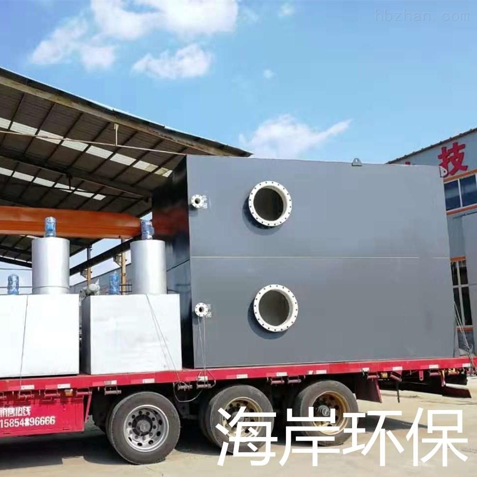 江西赣州重力式一体化净水设备动画版
