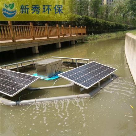 太阳能曝气机安装