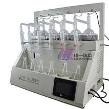 上海全自动一体化蒸馏仪CYZL-6带称重