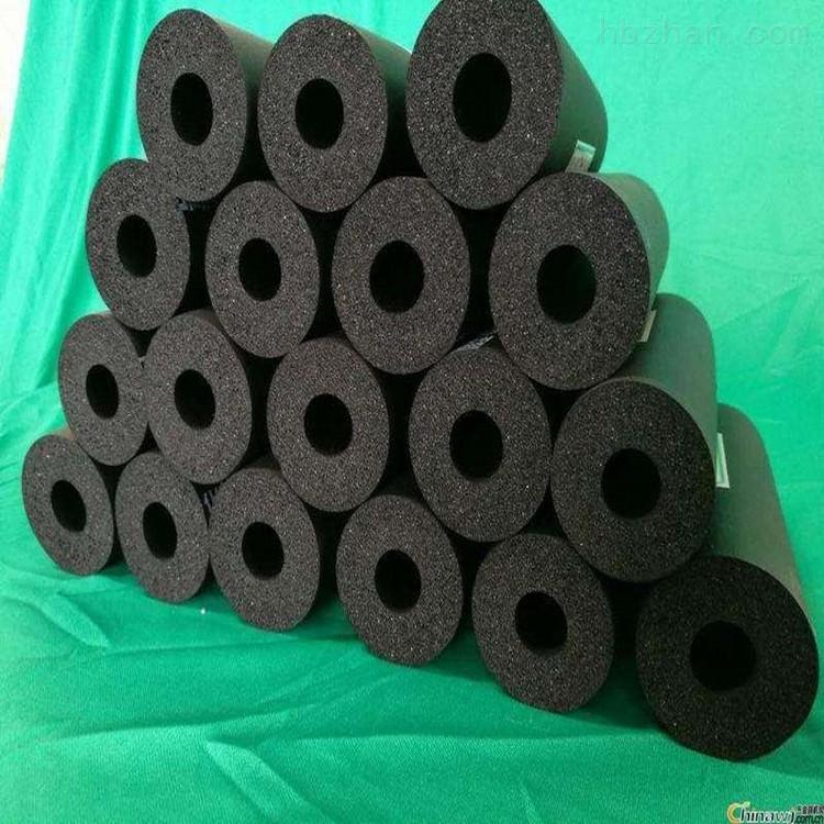 廊坊生产空调橡塑保温管黑色闭孔
