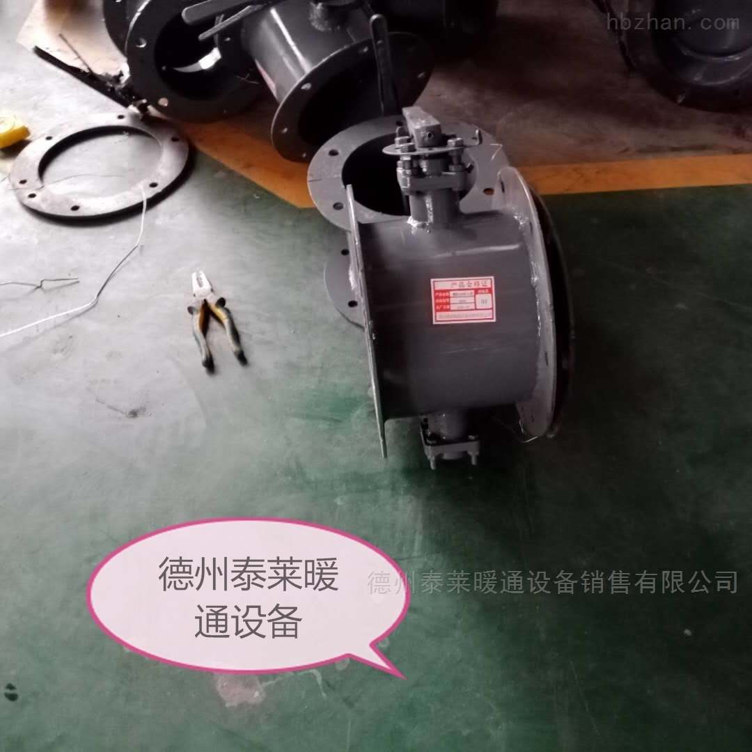 插板閥CBF-500輕型風管蝶閥
