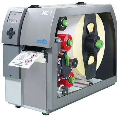 XC4双色打印德国CAB条码打印机