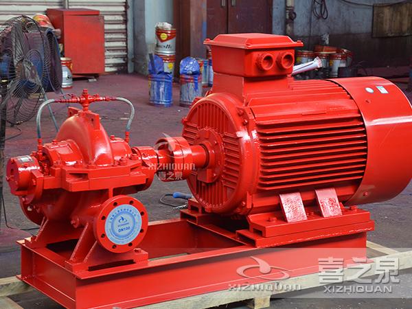 喜之泉教您如何选消防泵型号以及切线泵有何要求