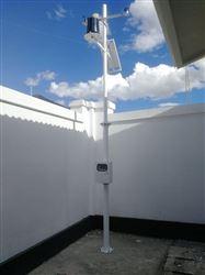 拉薩氣象監測係統安裝成功
