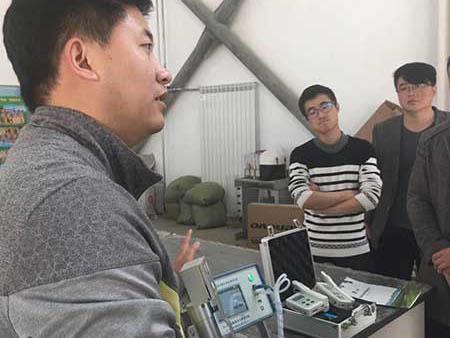 光合作用測定儀幫助長治學院進行教學研究