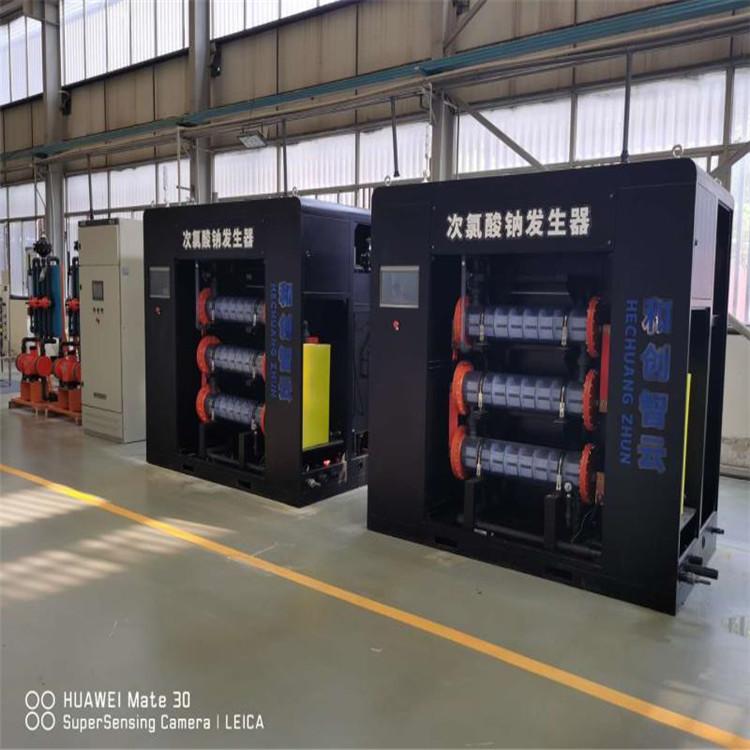 水厂加压泵站消毒设备-HC牌500g次氯酸钠发生器